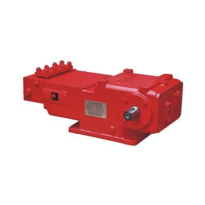 Three-cylinder crankshaft plunger pump